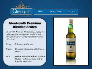 Glenbrynth  Premium  Blended Scotch