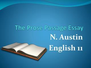 The Prose Passage Essay