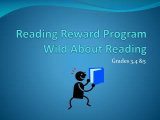 Reading Reward  Program Wild About Reading