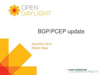 BGP/PCEP update