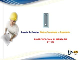 BIOTECNOLOG�A  ALIMENTARIA 211619