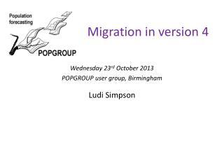 Migration in version 4