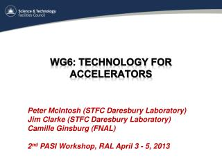WG6: Technology for Accelerators