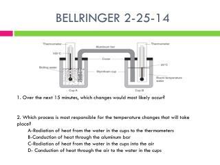 BELLRINGER 2-25-14