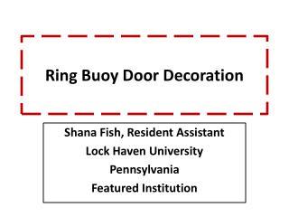 Ring  Buoy Door  Decoration