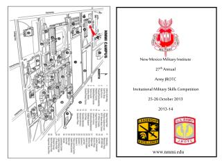 New Mexico Military Institute 27 th Annual Army JROTC  Invitational  Military Skills Competition