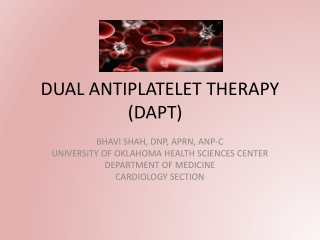 Management of antiplatelets post PCI