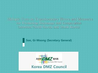 Son,  Gi-Woong  (Secretary General)