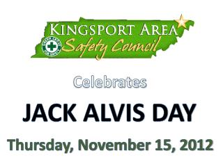 JACK ALVIS DAY
