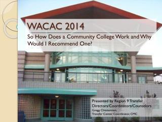 WACAC 2014