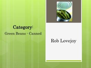 Rob Lovejoy