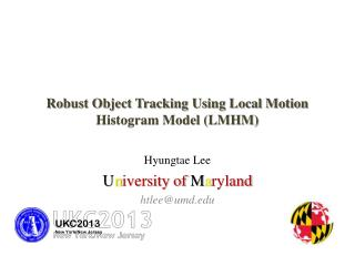 Robust Object Tracking Using Local Motion Histogram Model (LMHM)