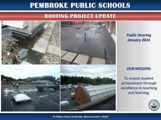 PEMBROKE PUBLIC SCHOOLS