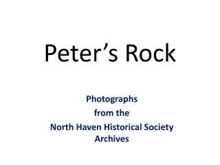 Peter�s Rock