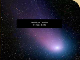 Exploration Timeline By: Stacie Biddle