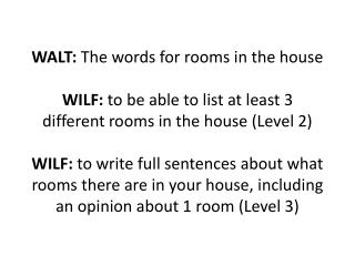 MATCH THE FRENCH WORDS FOR THE DIFFERENT ROOMS TO THE CORRECT PICTURE. HOW DO YOU DO THAT?