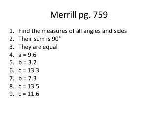Merrill pg. 759