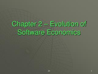 Chapter 2   Evolution of Software Economics
