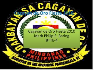 Cagayan de Oro Fiesta 2010