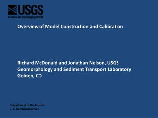 Overview of  Model Construction and Calibration