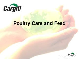 Poultry Care and Feed