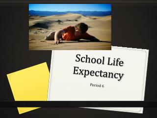 School Life Expectancy