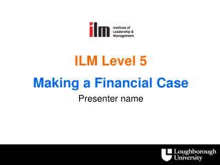 ILM Level 5