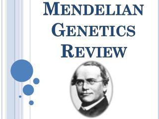 Mendelian Genetics Review
