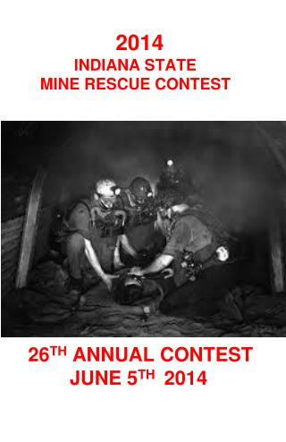 26 th  annual contest june  5 th   2014