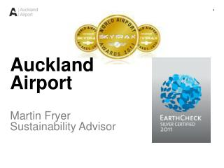 Auckland Airport Martin Fryer Sustainability Advisor