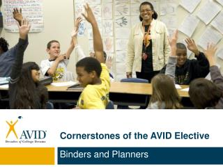 Cornerstones of the AVID Elective