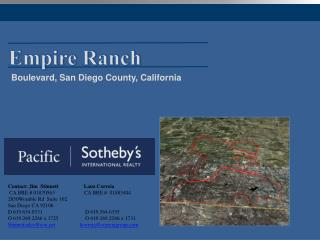 Empire Ranch
