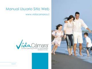 Manual Usuario Sitio Web vidacamara.cl
