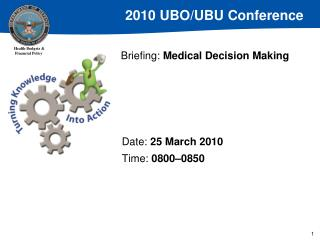 Briefing: Medical Decision Making