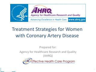 Treatment Strategies for Women with Coronary Artery Disease