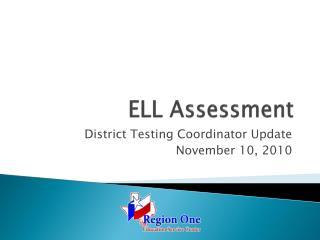 ELL Assessment