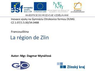 La région de Zlin