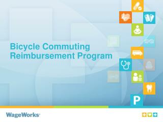 Bicycle Commuting Reimbursement Program