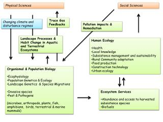 Organismal  & Population Biology Ecophysiology Population Genetics & Ecology
