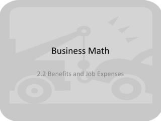 Business Math