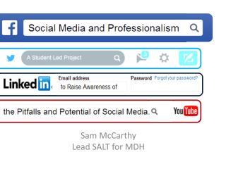 Sam McCarthy Lead SALT for MDH