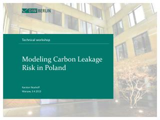 Modeling Carbon Leakage Risk in Poland