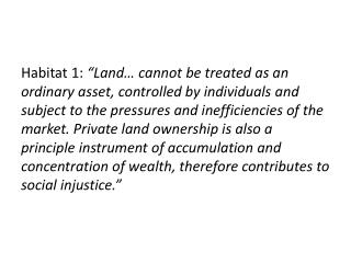 A  Statement of US Civil Society for Habitat II
