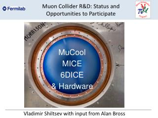Muon Collider R&D: Status and Opportunities to Participate