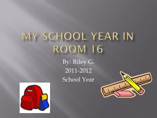 My School Year in Room 16