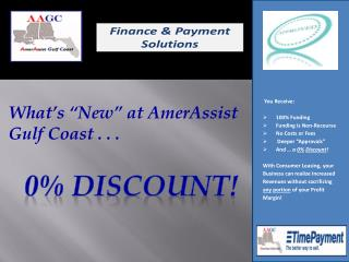 "What's ""New"" at AmerAssist  Gulf Coast . . ."