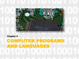 computer Programs and Languages