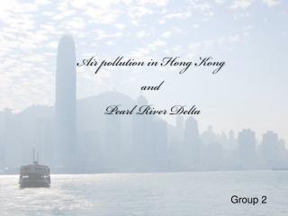 Pollution in Hong Kong