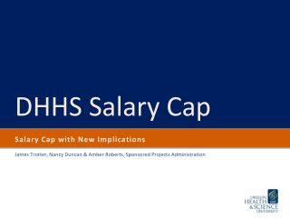 Salary Cap with New Implications
