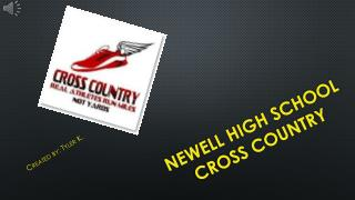 Newell high school cross country